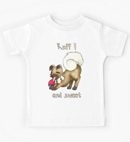 Rockruff - Ruff ! and sweet  Kids Tee