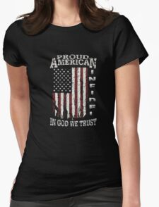 United States Proud shirt-July 4th T-Shirt independence Womens Fitted T-Shirt