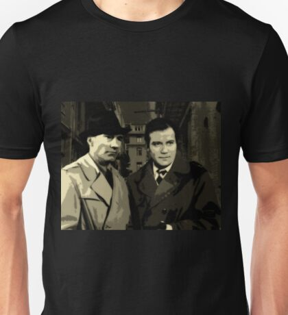 Kirk and Picard Detective Agency Unisex T-Shirt