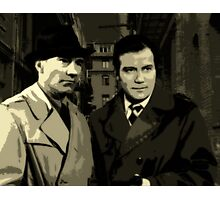 Kirk and Picard Detective Agency Photographic Print