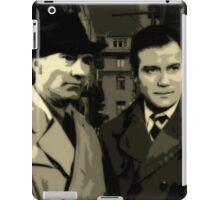Kirk and Picard Detective Agency iPad Case/Skin