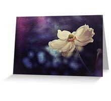 Oxford Anemone Greeting Card