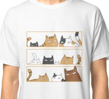 Cats in the box Classic T-Shirt