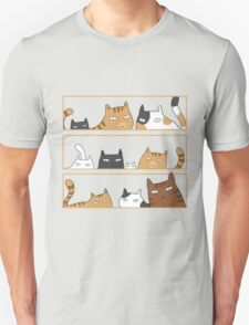 Cats in the box Unisex T-Shirt