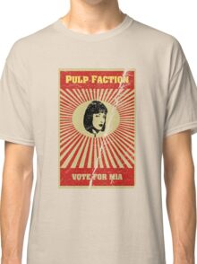 Pulp Faction - Mia Classic T-Shirt
