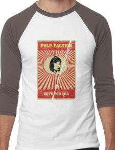Pulp Faction - Mia Men's Baseball ¾ T-Shirt