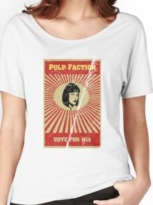 Pulp Faction - Mia Women's Relaxed Fit T-Shirt