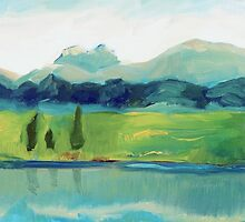 Mountain View by Claudia Dingle