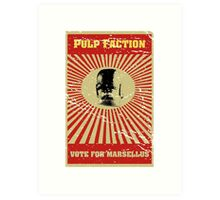 Pulp Faction - Marsellus Art Print