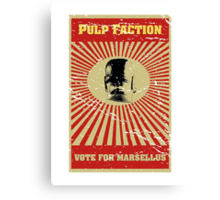 Pulp Faction - Marsellus Canvas Print