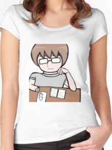 Bored Mal  Women's Fitted Scoop T-Shirt