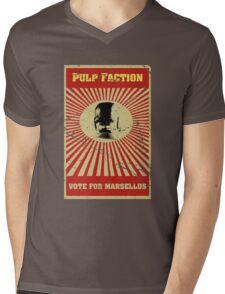 Pulp Faction - Marsellus Mens V-Neck T-Shirt