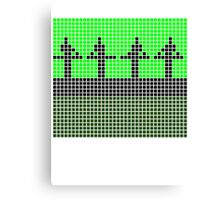 PIXEL8 | Power Station | Green Stage Canvas Print