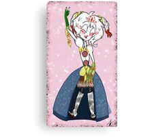 Tammy the CowGirl Princess Canvas Print