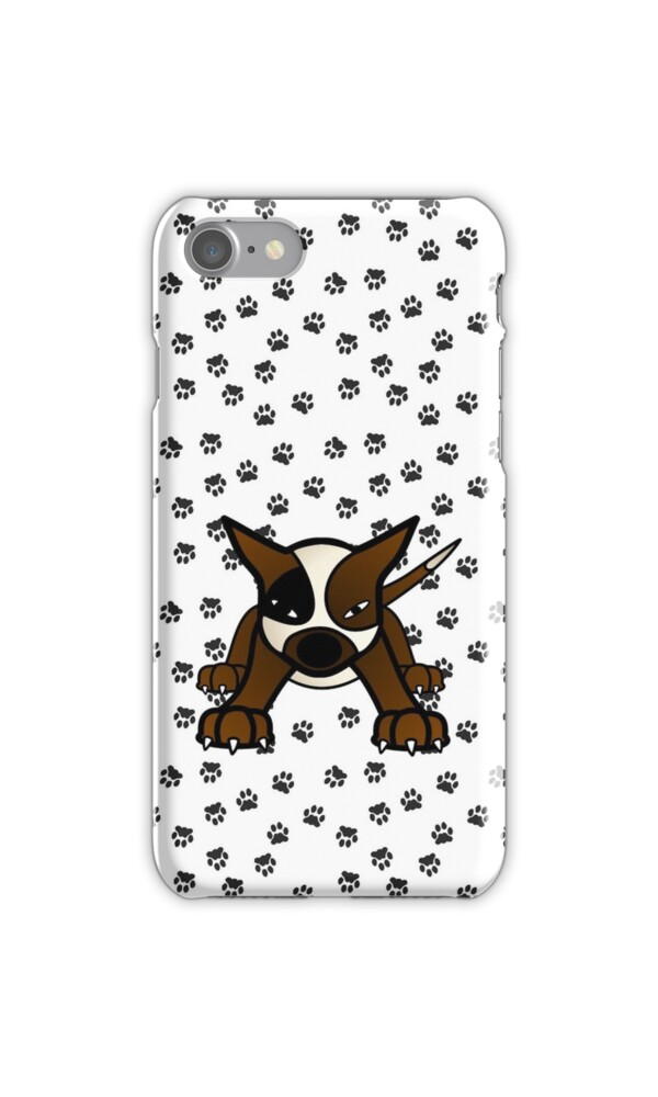 pit bully pup iphone cases skins by sookiesooker redbubble. Black Bedroom Furniture Sets. Home Design Ideas