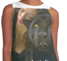 WE ARE ONE (Lady and the Black Leopard - Togetherness) Contrast Tank