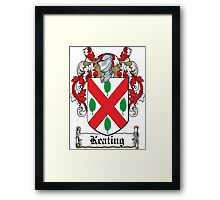 Keating Coat of Arms (Irish) Framed Print
