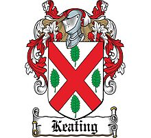 Keating Coat of Arms (Irish) Photographic Print