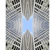 Urban symmetry Photographic Print