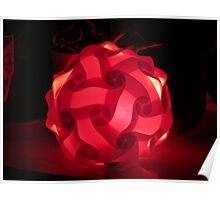 My red lamp Poster
