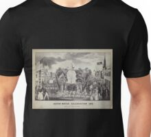 156 Croton water celebration 1842 Unisex T-Shirt