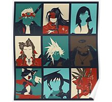 Final Fantasy VII - Characters Poster