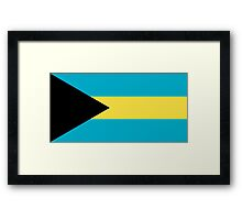 Flag of the Bahamas Framed Print