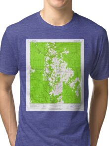 USGS TOPO Map Arkansas AR Prattsville 259452 1963 24000 Tri-blend T-Shirt