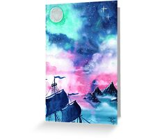 Neverland Sky Greeting Card
