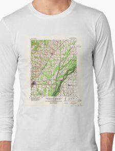 USGS TOPO Map Arkansas AR Marmaduke 260180 1940 62500 Long Sleeve T-Shirt