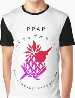 pen-pineapple apple-pen (PPAP) eng ver Graphic T-Shirt