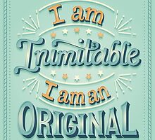 I am an original by Risa Rodil