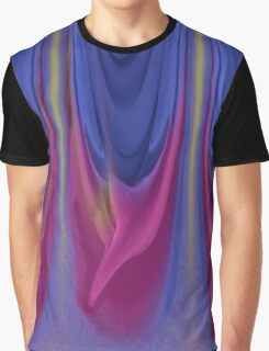 Wearable Art - Weeping Colors Graphic T-Shirt