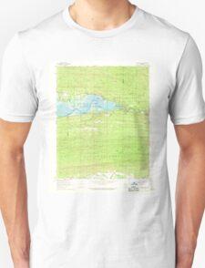USGS TOPO Map Arkansas AR Nimrod Dam 259242 1968 24000 Unisex T-Shirt