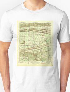 USGS TOPO Map Arkansas AR Olmstead 259948 1941 31680 Unisex T-Shirt