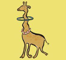 the hula giraffe One Piece - Short Sleeve