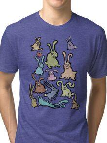 13 bunnies Tri-blend T-Shirt