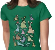 13 bunnies Womens Fitted T-Shirt