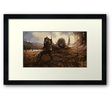 The Witcher - Griffin Framed Print