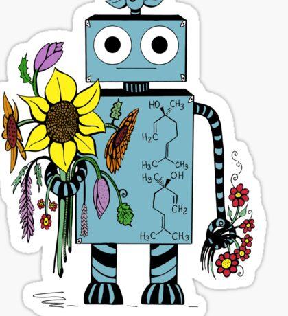 Lina The Robot Sticker