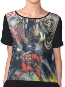 Iron Maiden - Number of the Beast Chiffon Top