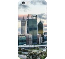 Perth city skyline from Kings Park iPhone Case/Skin