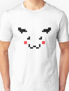 Pikachu Pixel Art Pokemon Unisex T-Shirt