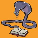 spectacled cobra reading by greendeer