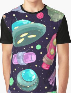 Painted Space Graphic T-Shirt