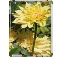 CREAMY YELLOW DAHLIA FLOWER DREAM iPad Case/Skin