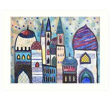 Eastern City Art Print