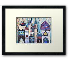 Eastern City Framed Print