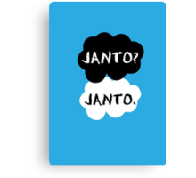 Janto - TFIOS Canvas Print
