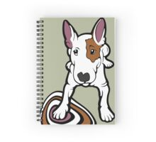 Ruby The English Bull Terrier Spiral Notebook